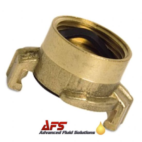 Brass Geka Type Claw Lock Coupling x BSP Female Threaded